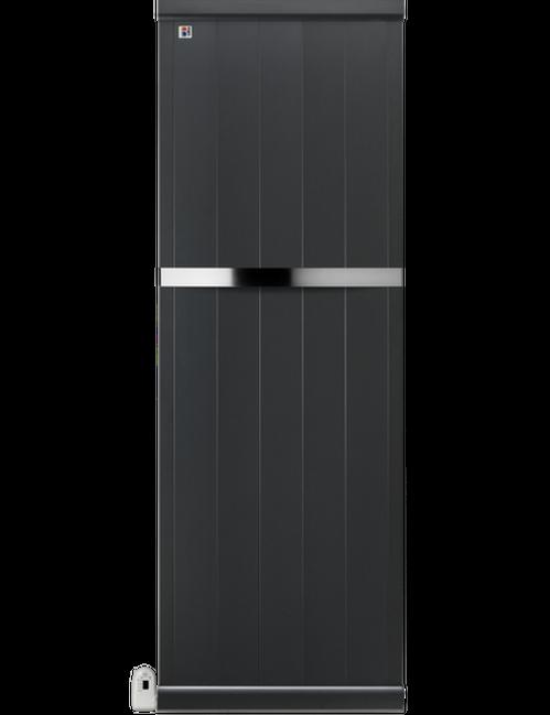 scontornata grigio_elettrico con scaldasalviette